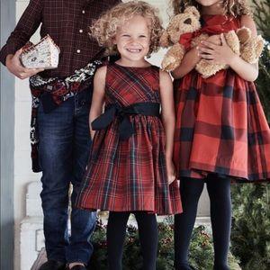 Ralph Lauren Tartan Taffeta Holiday Dress Size 2T